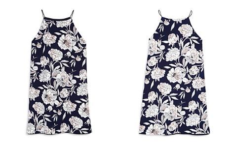 AQUA Girls' Sleeveless Floral Dress, Big Kid - 100% Exclusive - Bloomingdale's_2