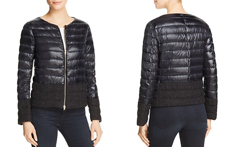 Herno Nylon & Bouclé Down Coat - Bloomingdale's_2