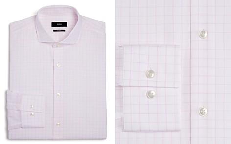 BOSS Grid Slim Fit Dress Shirt - Bloomingdale's_2