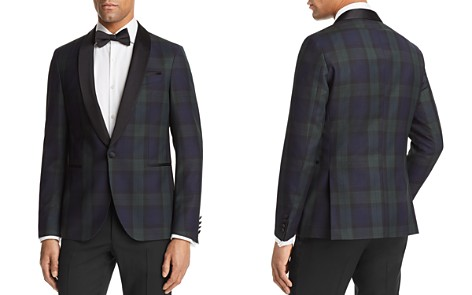 BOSS Nemir Plaid Blackwatch Regular Fit Tuxedo Jacket - Bloomingdale's_2