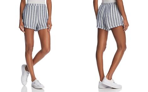 Bella Dahl Striped Mini Shorts - 100% Exclusive - Bloomingdale's_2