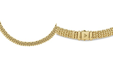"LAGOS Caviar Gold Collection 18K Gold Rope Necklace, 16"" - Bloomingdale's_2"