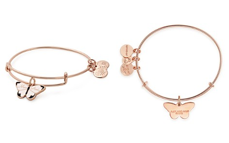 Alex and Ani Mon Ami Butterfly Expandable Wire Bangle - Bloomingdale's_2