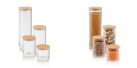 Honey Can Do Bamboo Jar Storage, Set of 4 - Bloomingdale's_2