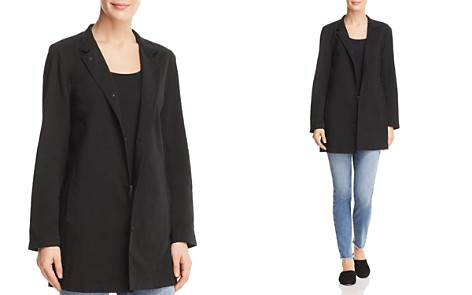 Eileen Fisher Snap-Front Long Jacket - 100% Exclusive - Bloomingdale's_2