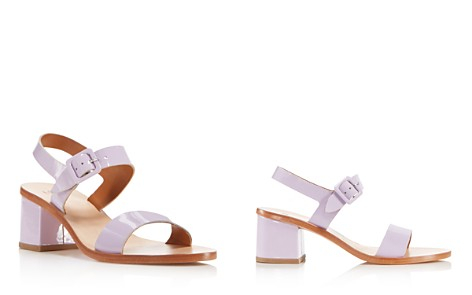 LoQ Women's Patent Leather Block Heel Ankle Strap Sandals - Bloomingdale's_2