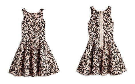 Pippa & Julie Girls' Floral Lace Skater Dress - Big Kid - Bloomingdale's_2