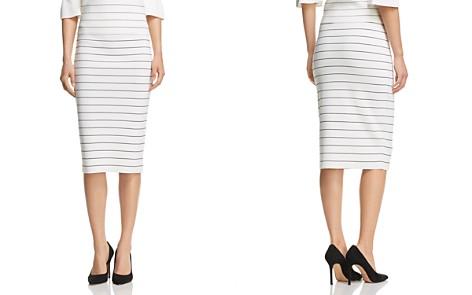 BOSS Fairuza Striped Pencil Skirt - Bloomingdale's_2