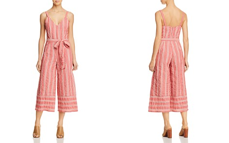 Lost + Wander Robin Striped Wide-Leg Jumpsuit - Bloomingdale's_2