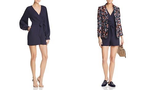 Whistles Mika Balloon-Sleeve Romper - 100% Exclusive - Bloomingdale's_2