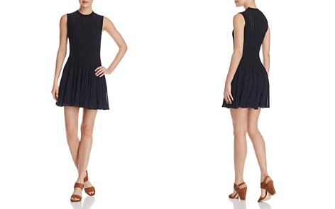 Theory Knit Checker Dress - Bloomingdale's_2