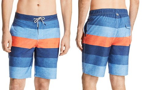 Johnnie-O Shore Striped Board Shorts - Bloomingdale's_2