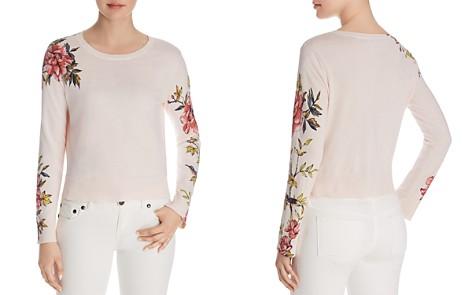 Joie Paari Floral-Sleeve Sweater - Bloomingdale's_2