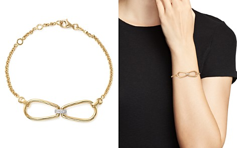 Roberto Coin 18K Yellow Gold Classic Parisienne Diamond Bracelet - 100% Exclusive - Bloomingdale's_2