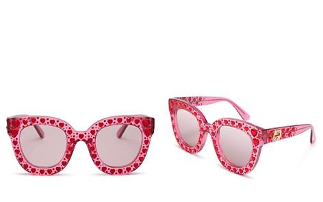 Gucci Cat Eye Swarovski Crystal Sunglasses, 49mm - Bloomingdale's_2