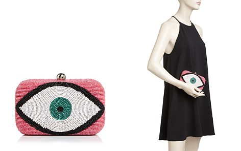 From St Xavier Erica Beaded Eye Box Clutch - Bloomingdale's_2