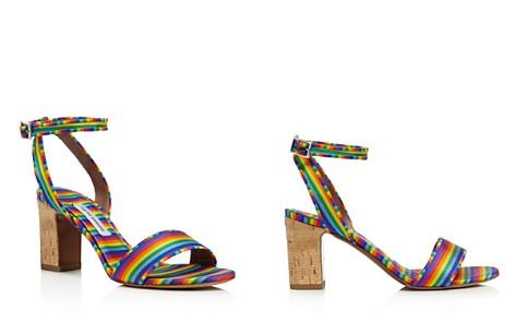 Tabitha Simmons Leticia Rainbow Grosgrain High-Heel Sandals - Bloomingdale's_2