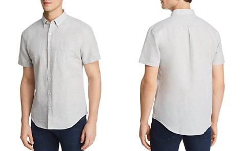 The Men's Store at Bloomingdale's Regular Fit Button-Down Shirt - 100% Exclusive_2