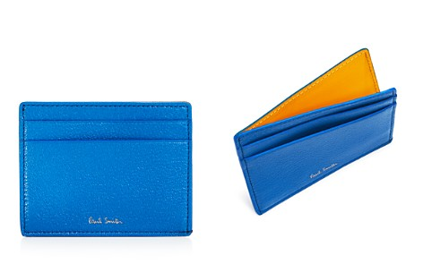 Paul Smith Pebbled Leather Colorblock Card Case - Bloomingdale's_2