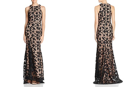 Jarlo Petal Lace Gown - 100% Exclusive - Bloomingdale's_2