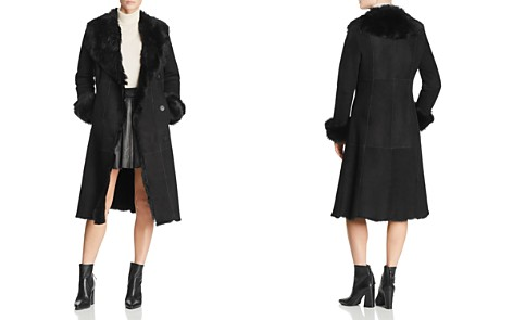 Maximilian Furs Shearling Coat with Toscana Shearling Shawl Collar - 100% Exclusive - Bloomingdale's_2