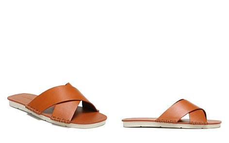 Vince Women's Nico Leather Slide Sandals - Bloomingdale's_2