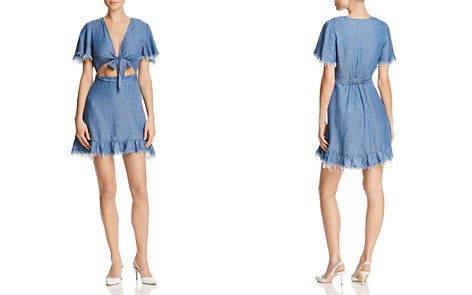 Show Me Your MuMu Melanie Chambray Dress - Bloomingdale's_2