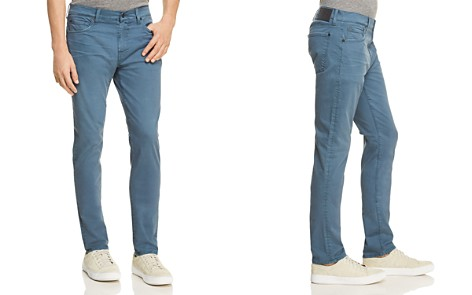 7 For All Mankind Adrien Slim Fit Jeans in Blue Wave - 100% Exclusive - Bloomingdale's_2