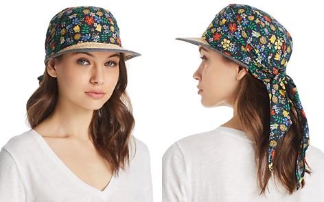 AQUA Floral Overlay Framer Cap - 100% Exclusive - Bloomingdale's_2