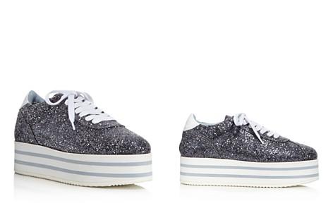 Chiara Ferragni Women's Glitter Platform Lace Up Sneakers - Bloomingdale's_2