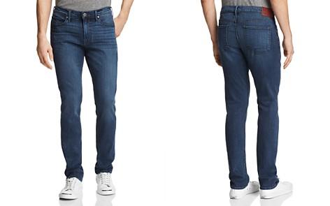 PAIGE Transcend Lennox Super Slim Fit Jeans in Blue - Bloomingdale's_2