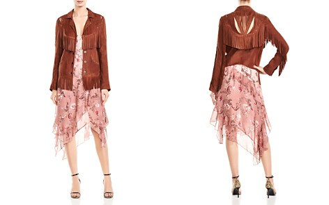 Haute Hippie Criminal Fringed Western Leather Jacket - Bloomingdale's_2