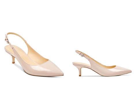 IVANKA TRUMP Women's Aleth Patent Leather Pointed Toe Slingback Pumps - Bloomingdale's_2