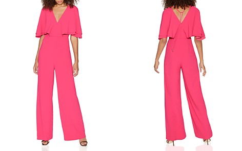 HALSTON HERITAGE Cape Overlay Jumpsuit - 100% Exclusive - Bloomingdale's_2