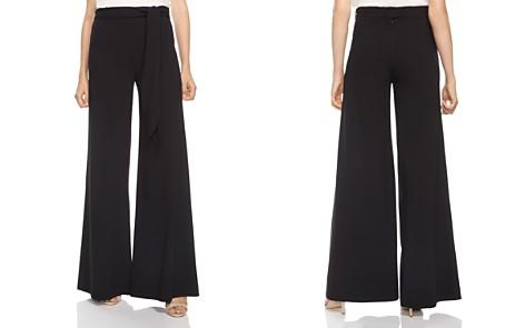 HALSTON HERITAGE Wide-Leg Self-Tie Sash Pants - Bloomingdale's_2
