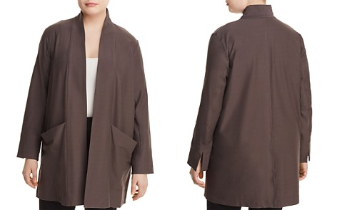 Eileen Fisher Plus Relaxed Open-Front Jacket - Bloomingdale's_2