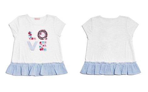 Design History Girls' Ruffled Love Top - Little Kid - Bloomingdale's_2