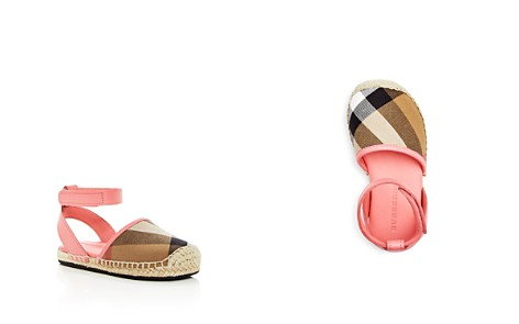 Burberry Girls' New Perth Ankle Strap Espadrille Sandals - Walker, Toddler - Bloomingdale's_2