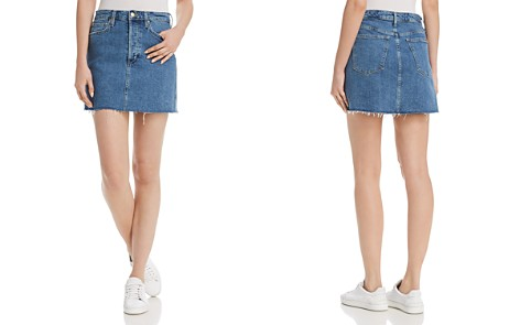 Joe's Jeans The Bella Denim Mini Skirt in Alaia - Bloomingdale's_2