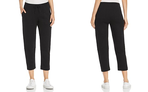 Three Dots Sueded-Knit Cropped Pants - Bloomingdale's_2