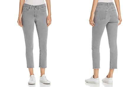 NYDJ Petites Sheri Slim Frayed Ankle Jeans in Miner Pigment - Bloomingdale's_2
