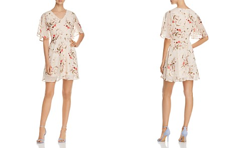 B Collection by Bobeau Brooker Floral-Print Dress - 100% Exclusive - Bloomingdale's_2