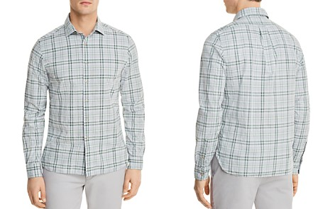The Men's Store at Bloomingdale's Plaid Long Sleeve Button-Down Shirt - 100% Exclusive_2