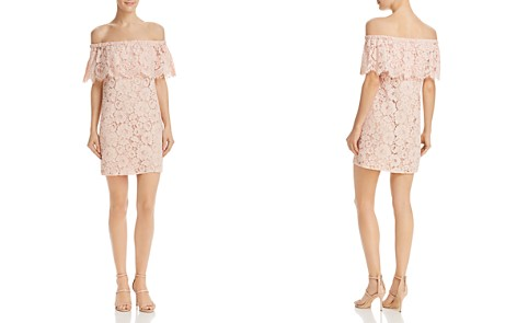WAYF Gail Off-the-Shoulder Lace Dress - Bloomingdale's_2