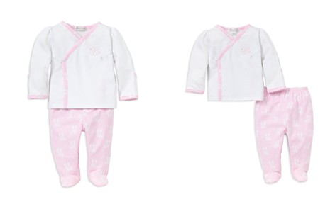 Kissy Kissy Girls' Embroidered Giraffe Shirt & Footed Pants Take Me Home Set, Baby - 100% Exclusive - Bloomingdale's_2