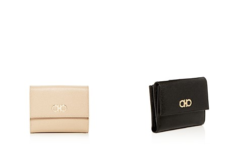 Salvatore Ferragamo Leather French Wallet - Bloomingdale's_2