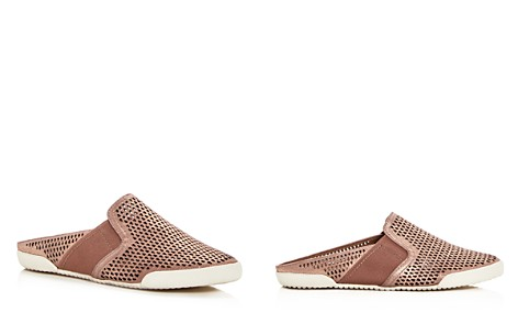 Frye Women's Melanie Perforated Leather Mules - Bloomingdale's_2