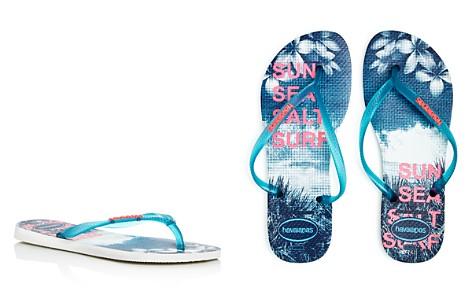 havaianas Women's Slim Paisage Flip-Flops - Bloomingdale's_2