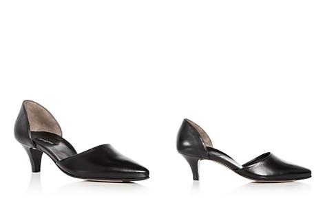 Paul Green Women's Julia Leather D'Orsay Kitten Heel Pumps - Bloomingdale's_2