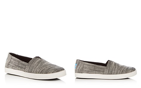 TOMS Women's Avalon Slubby Cotton Flats - Bloomingdale's_2